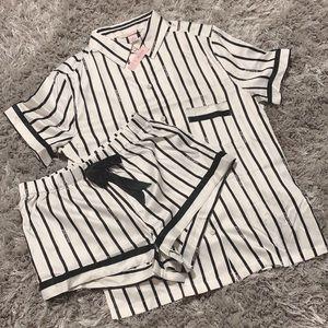 VS satin pajama short set